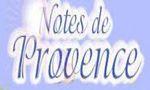 Notes de Provence